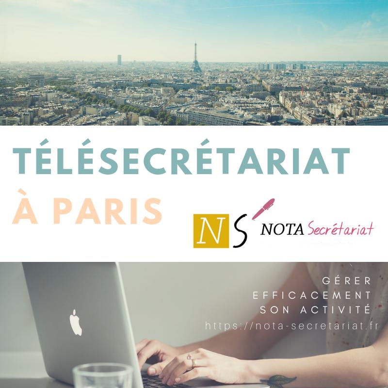 Télésecrétariat à Paris