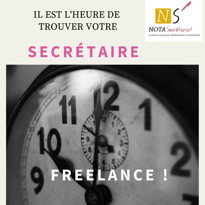 Secrétaire freelance